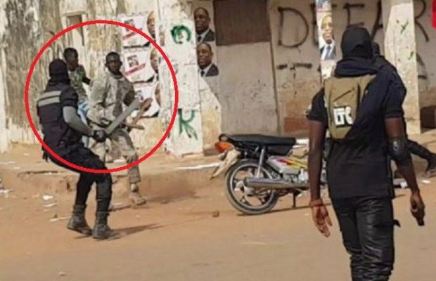 Les images de la violente bagarre: Un homme provoque la garde rapprochée du PUR