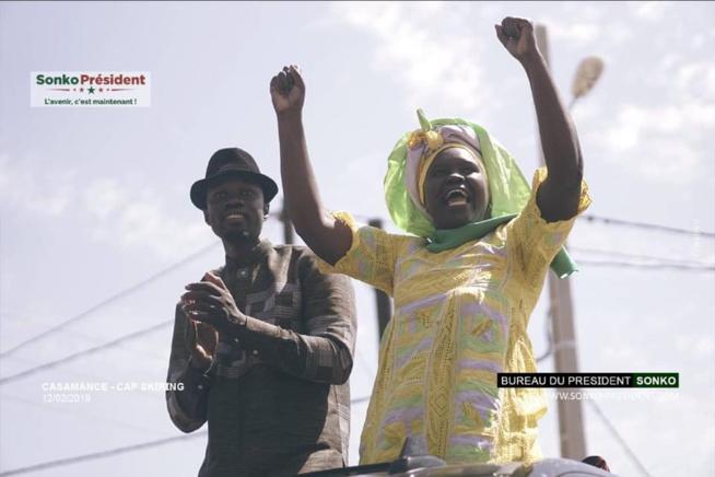 Record de mobilisation de Ousmane Sonko à Niaguis, Sindia et Goudomp, Oussouye: Ousman Sonko frappe fort… Tout ce que vous n'avez pas vu en Images