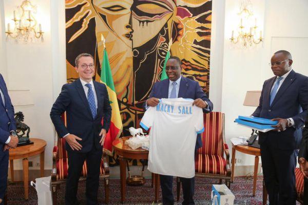 Qualification en finale, Macky Sall félicite l'équipe des U20