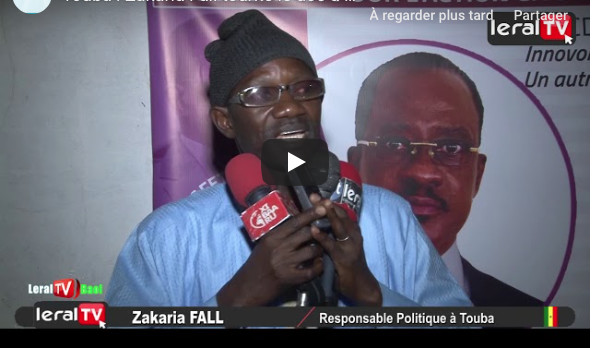 VIDEO - Touba : Zakaria Fall tourne le dos à Macky Sall et choisit Madické Niang