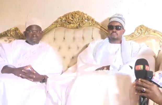 TOUBA: El Hadji Issa Sall et Serigne Mansour Sy Djamil reçu par Serigne Basse Abdou Khadr Mbacké