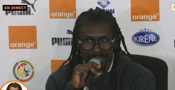 Aliou Cissé sur son contrat : « Les objectifs, c'est moi-même qui me les assigne »