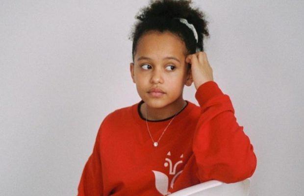 Naoel, la fille de Fadiga amoureuse de la mode