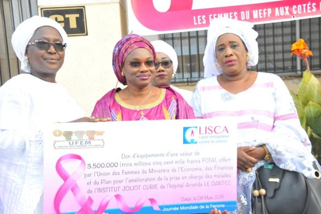 Photos : le 08 mars des femmes du ministère de l'Economie, des Finances et du Plan