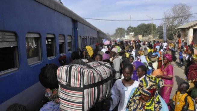 Accident ferroviaire évité à Thiaroye Gare: Un bus bondé de passagers tombe en panne sur les rails et frôle le pire avec un train «Taïba»