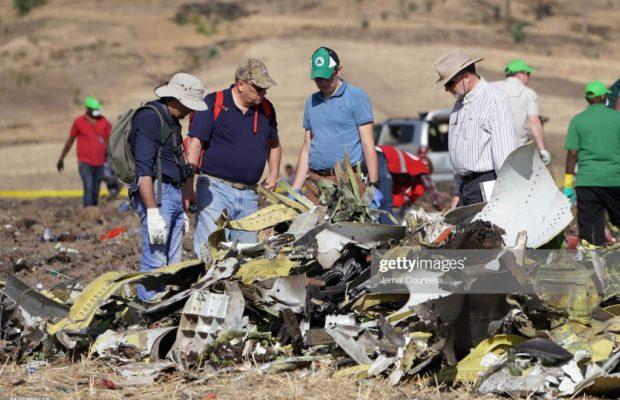 Des parents et proches des victimes du crash de l'avion Ethiopian Airlines se sont rendus sur les lieux du drame, Un véritable choc.
