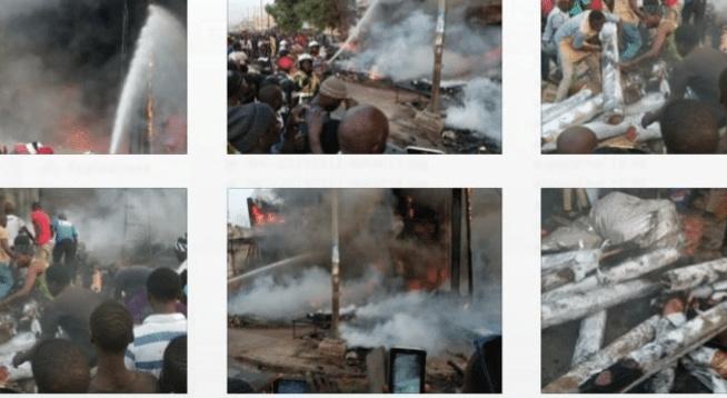 Marché Ocass de Touba : Ce qui a provoqué l'incendie