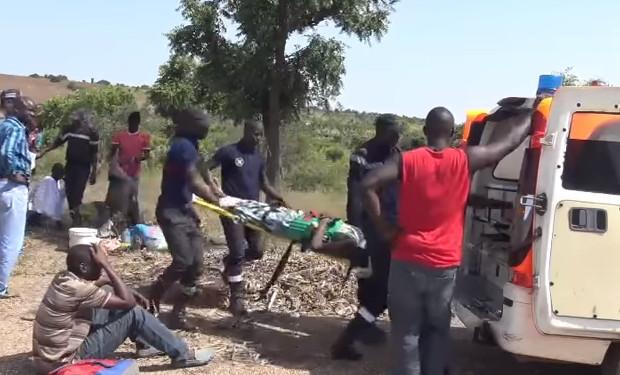 Dernière minute – Ziguinchor: un véhicule des sapeurs-pompiers s'est renversé, bilan 5 blessés graves
