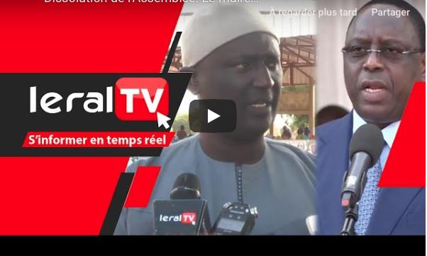 Dissolution de l'Assemblée: Le maire de Toubacouta s'en remet à Macky Sall