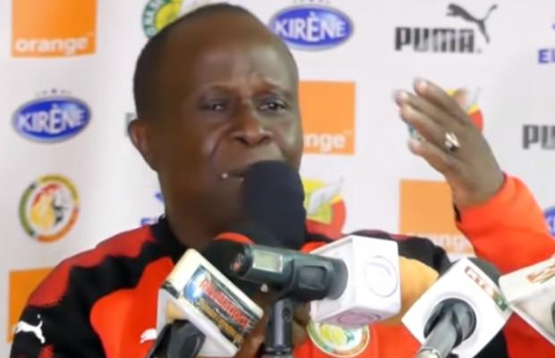 CAN U23 : Koto s'énerve et s'en prend à un journaliste en conférence de pesse