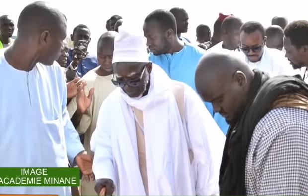 Université de Touba: Le Khalif Général des Mourides visite le chantier