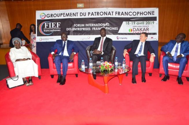 VIDEO: Cérémonie d'ouverture du FORUM INTERNATIONAL DES ENTREPRISES FRANCOPHONES avec le MDES