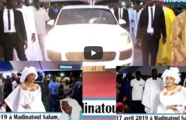 Vidéo- 17 Avril 2019 à Madinatoul Salam :Entrée spectaculaire et les pas de danses de Sokhna Aida