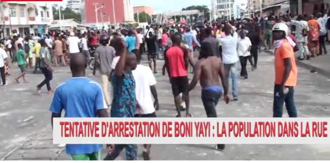 BENIN: Tentative d'arrestation de Yaya Boni, la population dans les rues.