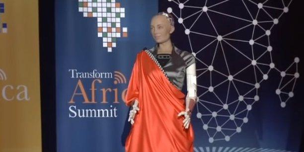 Ce que l'IA de Sophia, le robot humanoïde, «pense» de la valeur de l'innovation africaine pour l'humanité