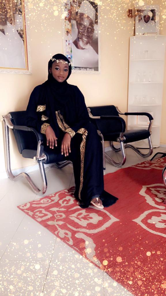 Admirez le nouveau look du top modél Bijou la Gazelle Noire durant le ramadan.