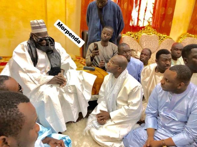La visite de la famille du défunt Cheikh Béthio chez le khalife des Mourides