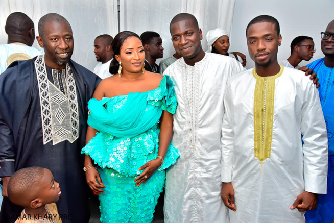 Birane Ndour et sa sœur au Mariage de PAPY Amar