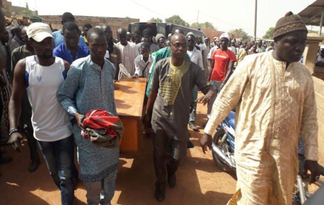 Tambacounda: Bineta Camara vient d'être inhumée au cimetière de Saré Guiléle