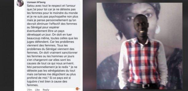 Arrêté par la SR : Ces 3 chefs d'accusation retenus contre Ousmane Mbengue « appel au meurtre contre les femmes sénégalaises »