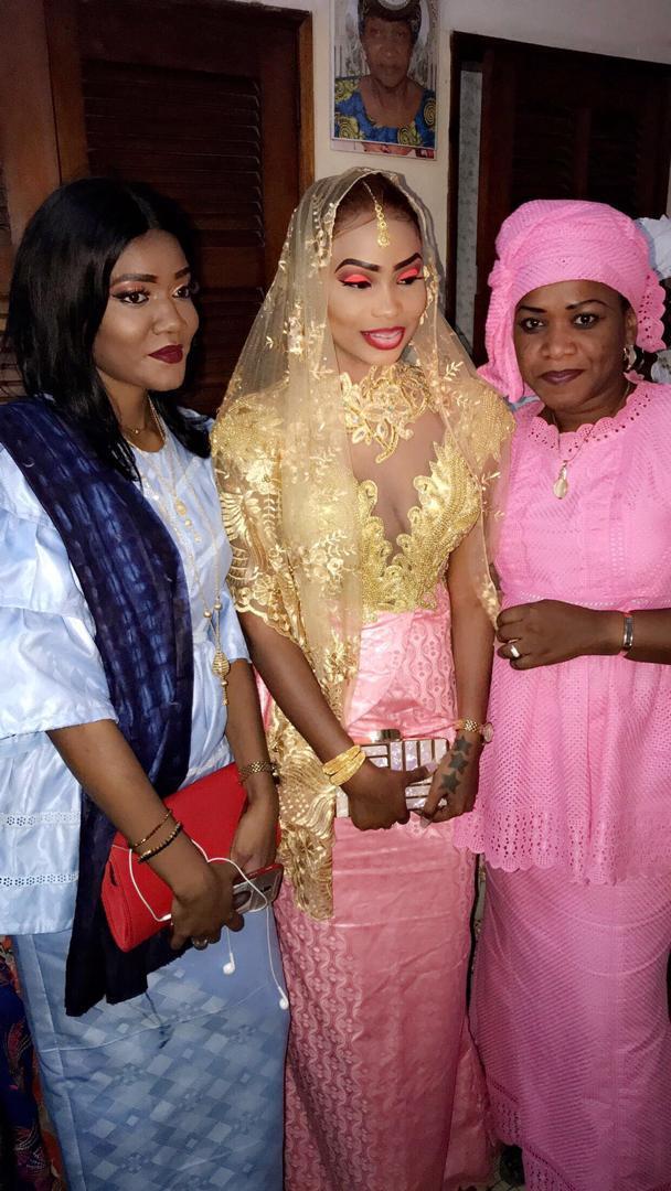 Les images du mariage de la commerçante Binta Ndoye dite Bibiche Wear