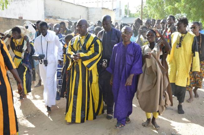 """Un million et un bélier, le """"Ndogou ziar"""" de Serigne Baba à Serigne Bassirou Fall Alhourane à Touba."""