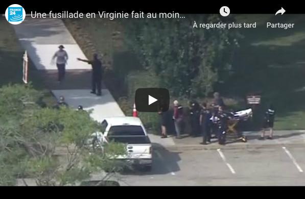 États-Unis : au moins 12 morts dans une fusillade en Virginie