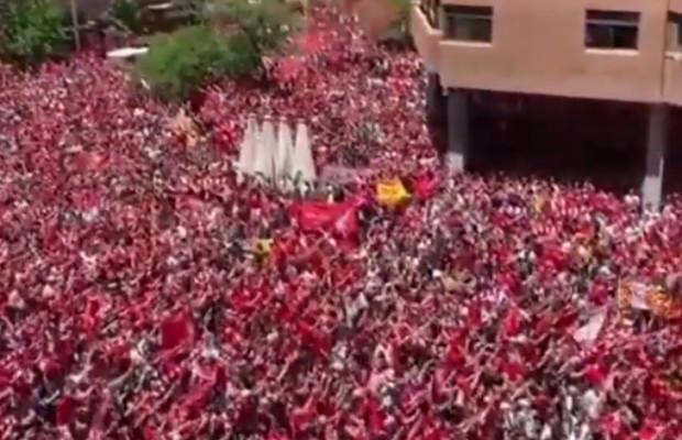 Vidéo : L'incroyable You'll Never Walk Alone des 120 milles supporters de Liverpool à Madrid