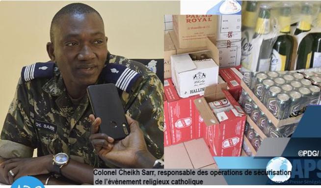 Popenguine: De l'alcool d'une valeur d'un million de francs saisi par la gendarmerie