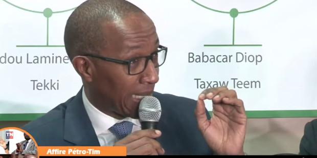 Abdoul Mbaye : « Pourquoi Alioune Sall perçevait un salaire de 13 millions »