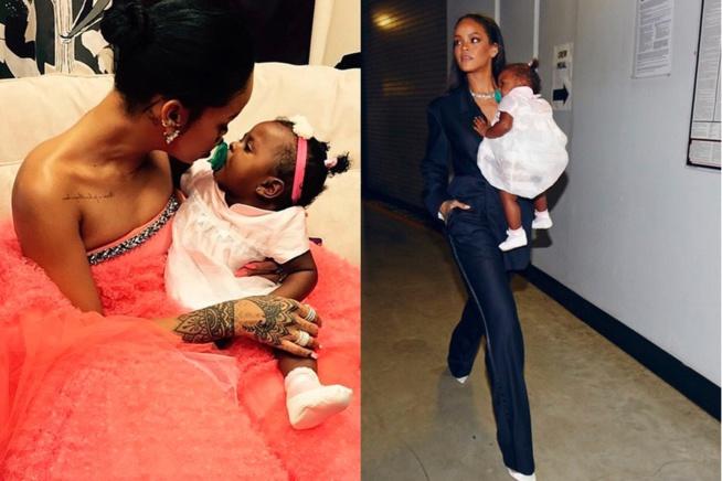 Rihanna avec son bébé et son bien-aimé Hassan Jameel !
