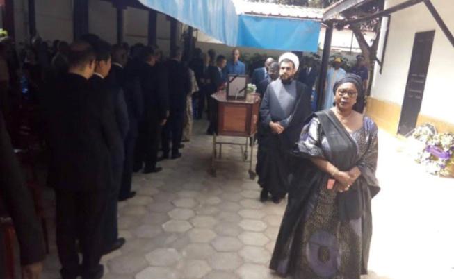 Hôpital Principal : Le dernier hommage du corps diplomatique au défunt ambassadeur de la Russie