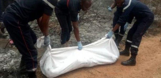 Découverte macabre à Kaffrine : Un homme âgé de 40 ans retrouvé mort dans la brousse