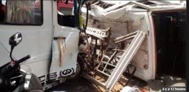 Croisement Niacourab: Six personnes d'une même famille tuées dans un accident de la circulation