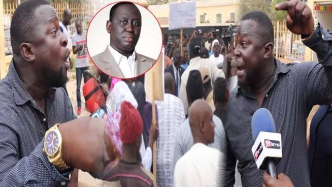 Vidéo- La population Guédiawaye s'oppose à la « démission » d'Aliou Sall