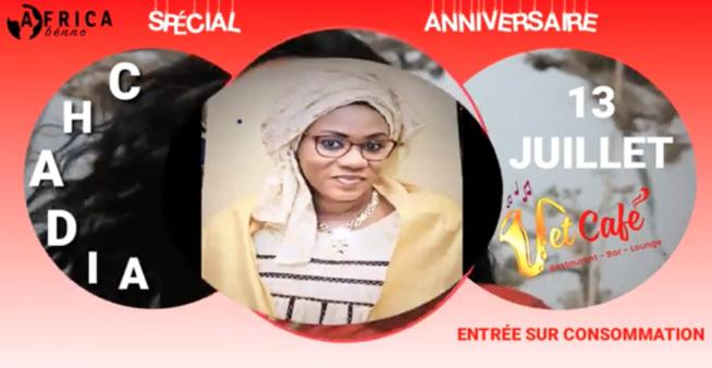 SPÉCIAL ANNIVERSAIRE LE 13 JUILLET AU JET CAFÉ AVEC (CHADIA) EN LIVE ACCOUSTIC
