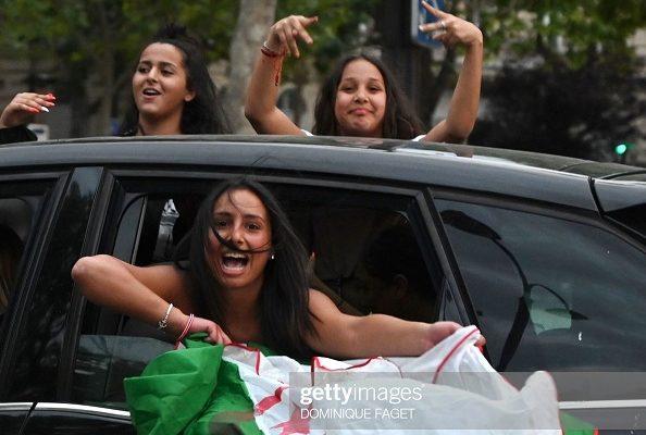 Une famille fauchée, La mère a été tuée et son bébé blessé, des magasins des Champs-Elysées pillés après la victoire de l'équipe de foot d'Algérie