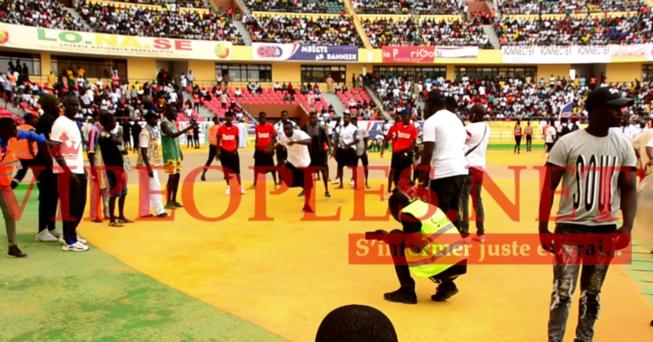 TOUSS: Aladji Mbaye met le feu au stade avant de perdre devant Adama Diouf