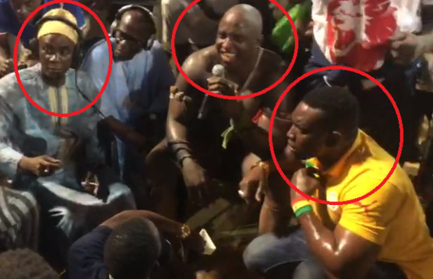 Boy Niang Vs Lac 2 Clash et insulte entre les deux clans devant Becaye Mbaye, Regardez la réaction de Gouy Gui