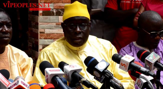 L'association des imames du Sénégal par son SG demande pardon à Thione Seck et son fils Waly Seck pour retirer la plainte contre imame Kanté.