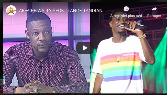 AFFAIRE WALLY SECK : TANGE TANDIAN DIRECTEUR EXÉCUTIF DE L'OMARTS PREND SA DÉFENSE
