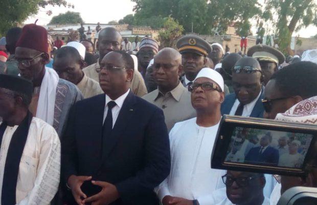 Nguéniène: La prière mortuaire effectuée en présence de toute la République