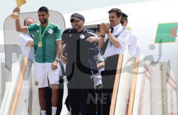 CAN 2019 – Algérie : le retour des champions d'Afrique en images !