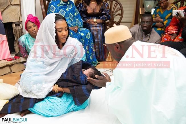 EXCLUSIF: Les 70 images du baptéme de la fille de Amina Poté à Atlanta.