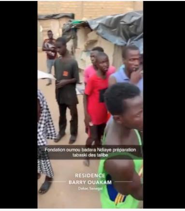Fondation Oumou Badara Ndiaye preparation Tabaski avec les Talibes