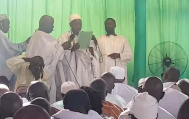 VIDÉO: Le khoutba de l'imam à la priére d'EID EL FITRE à Massalikoul Djinane.