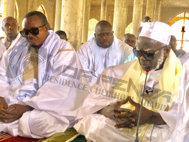 Les images de la prière de la Tabaski à TOUBA
