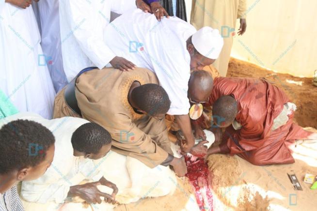 Les images de la célébration de l'Aid El Kebir à la mosquée Massalikoul Djinane...