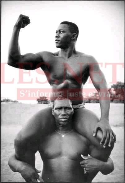 Qui sont ses deux champions de la lutte?