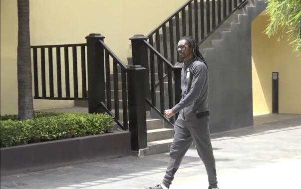 Aliou Cissé à Dakar Arena pour soutenir les Lionnes